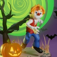 AR clown for the candy brand Ricolino